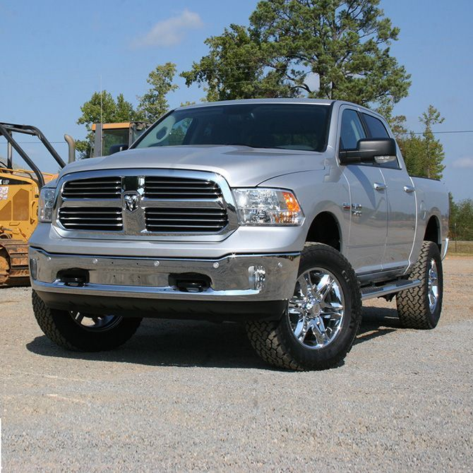 Dodge Lift Kits >> 4 Inch Lift Kit 2012 2018 Dodge Ram 1500 4wd Gas And Eco Diesel
