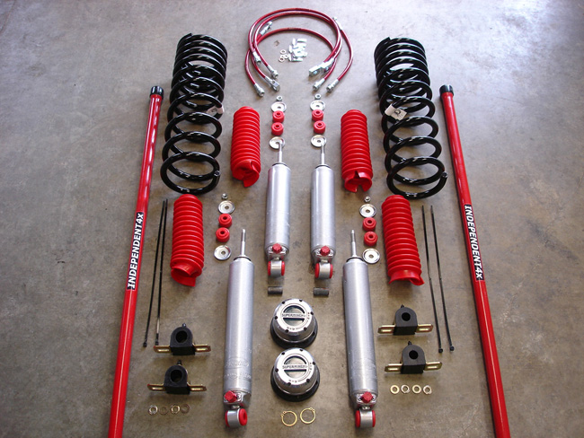Isuzu Trooper Vehicross Budget Suspension System 92 2004
