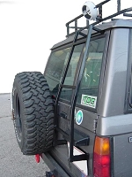 Isuzu Rear Door Ladder: '86-91 Trooper