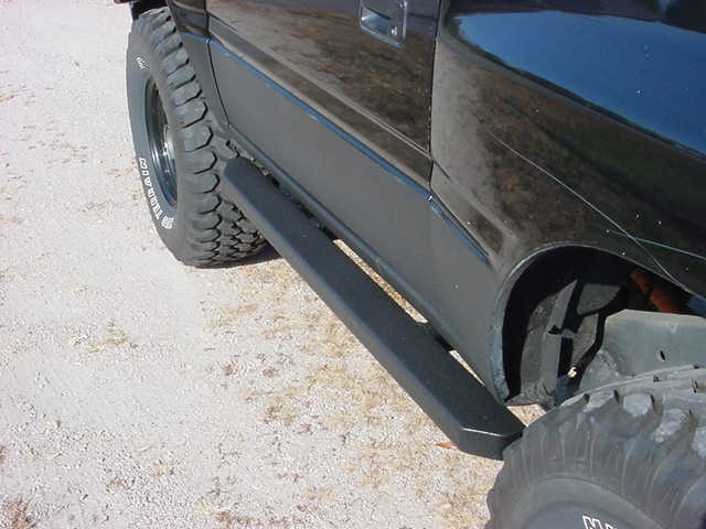 Isuzu Rock Sliders
