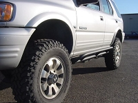 Isuzu Tube Rock Sliders - D.O.M.