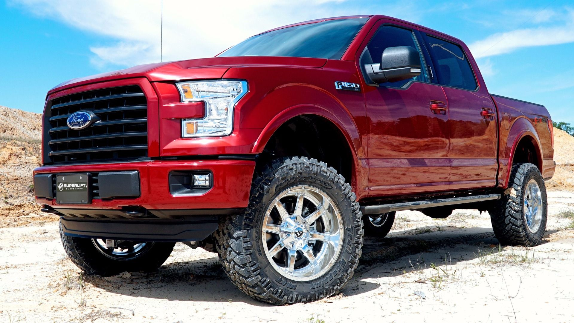 6 Inch Lift Kit For Ford F150 4X4 >> 4 5 Inch Lift Kit 2015 2018 Ford F 150 4wd With Superide Or Bilstein Rear Shocks
