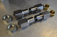 7/8 x 18 tpi HEX Weld Insert Steering Kit - for Tie Rods