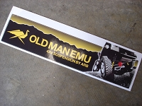 Old Man Emu Suspension Decal