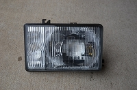 Salvage Head Light, Passenger: 87-91 Trooper