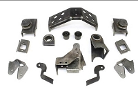 Teraflex Jeep Axle Bracket Kit: TJ Front