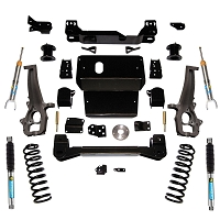 4 inch Lift Kit - 2012-2018 Dodge Ram 1500 4WD Gas and Eco Diesel Models - with Superide Rear Shocks or Bilstein Front Struts and Rear Shocks