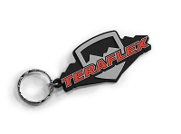 "TeraFlex Icon Logo Keychain (3"" long)"