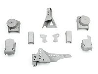 TeraFlex Jeep JK Axle Bracket Kit: Front