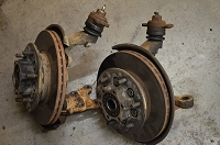 Salvage Isuzu Knuckles, Hubs, Ball Joints  - '88-94