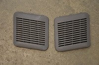 Salvage Isuzu Front Door speaker grills, pair: 92+ Trooper