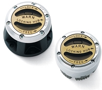 WARN Premium Manual Hubs: Dana 44
