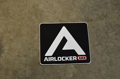 ARB Air Locker Decal - New Logo